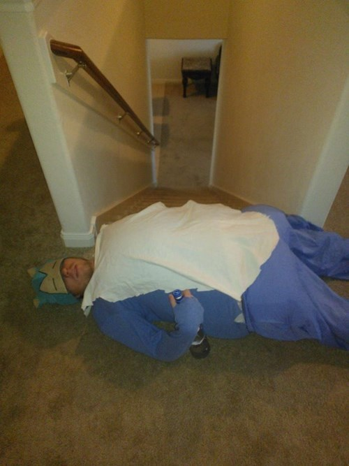 cosplay,snorlax,drunk