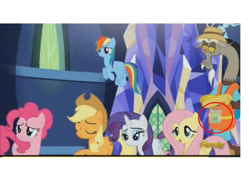applejack discord what about discord smooze pinkie pie rarity fluttershy rainbow dash - 8583275264