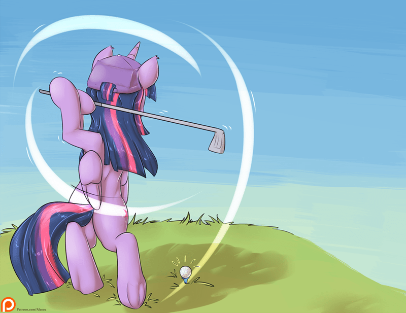 golf,twilight sparkle