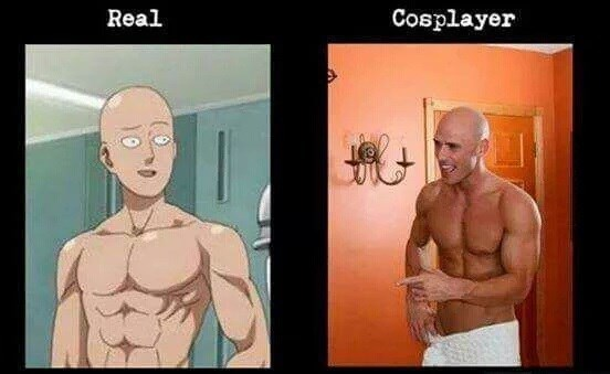 cosplay anime one punch man - 8583383296