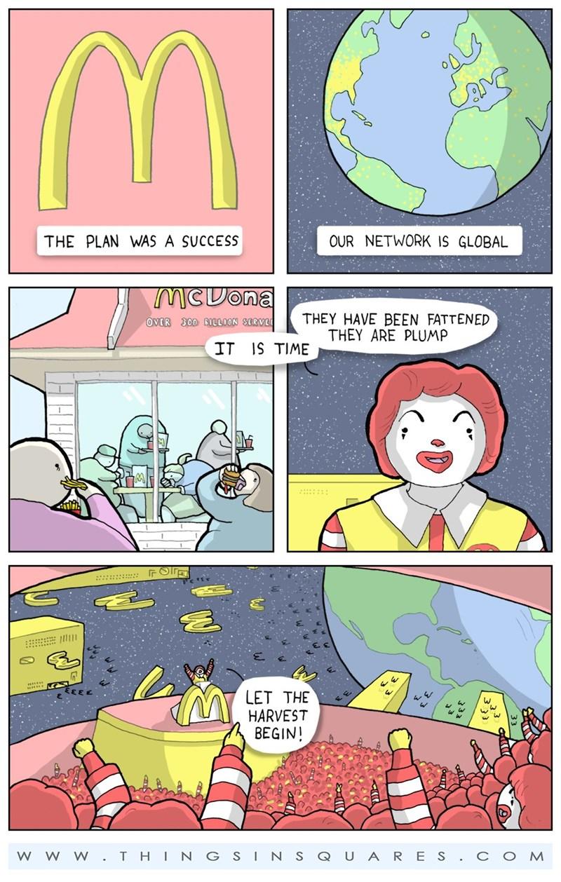 aliens web comics mcdonalds I'm Not Lovin' It