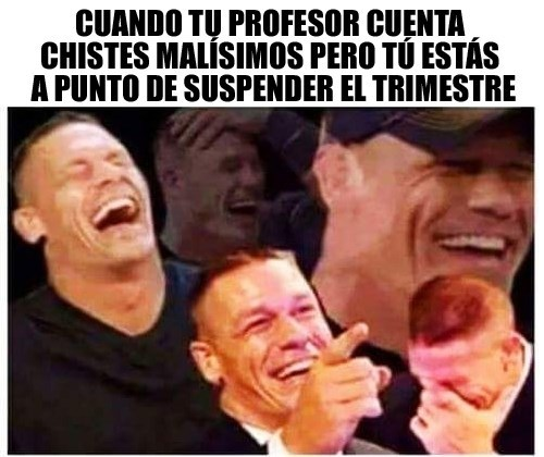 tu profesor te cuenta chistes