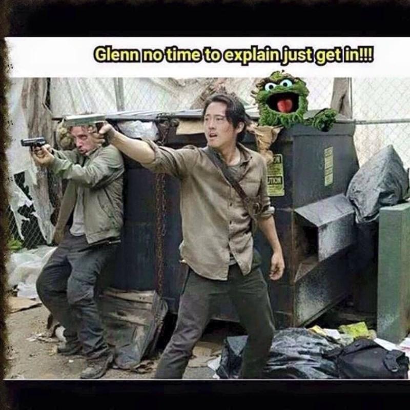 Get In, Glenn!
