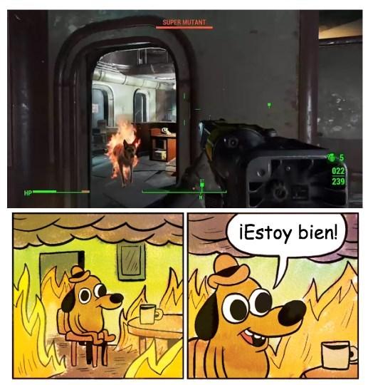 Mientras tanto en Fallout 4