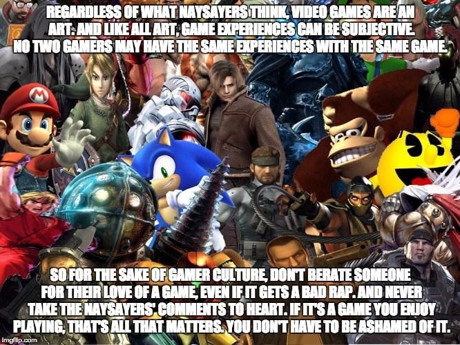 Friendly Reminder art video games - 8583709184
