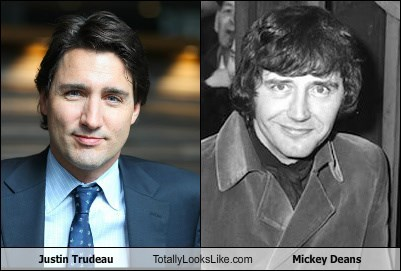 Justin Trudeau Totally Looks Like Mickey Deans