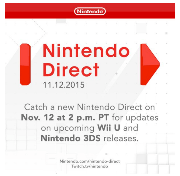 video game news nintendo direct 11 12