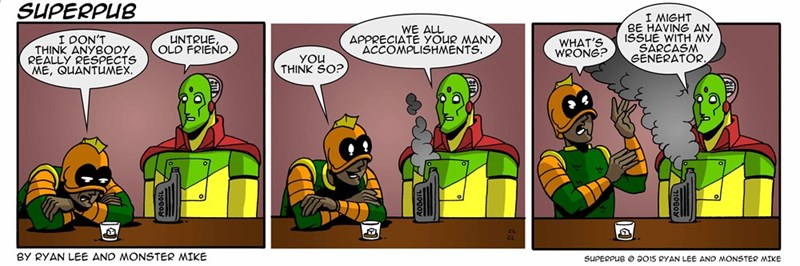 sarcasm web comics You're Great! /Sarcasm/