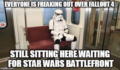 video games star wars battlefront hype