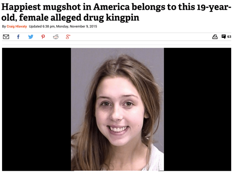 Queenpin Slaying Her Mugshot