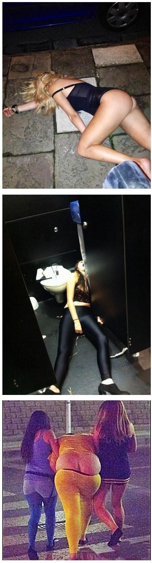mujeres borrachas