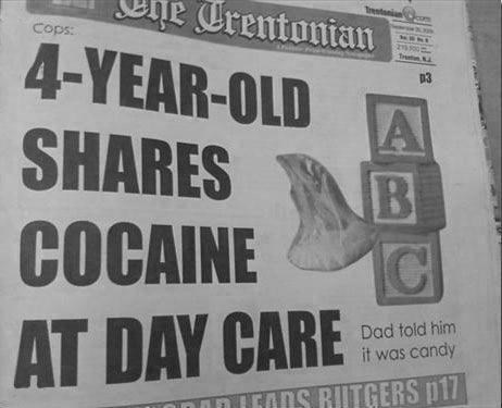 At Least That's One Kid That Learned Sharing is Caring