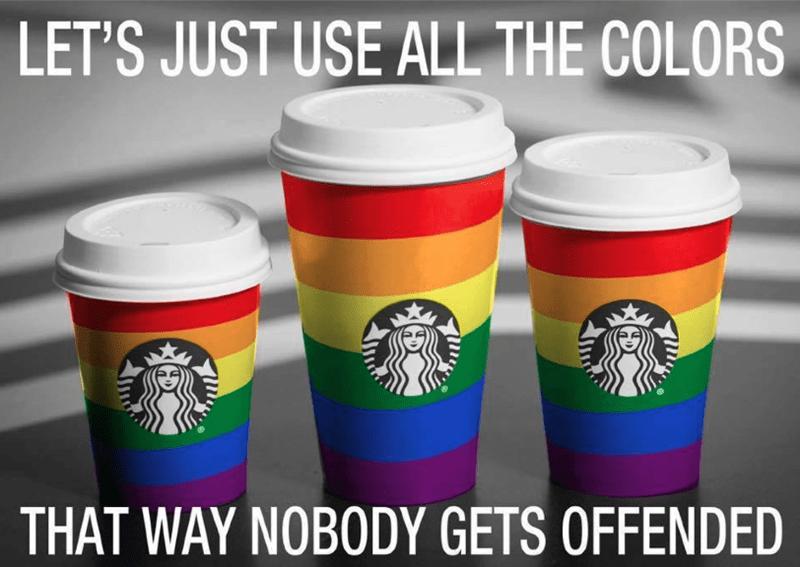 starbucks christmas cup meme