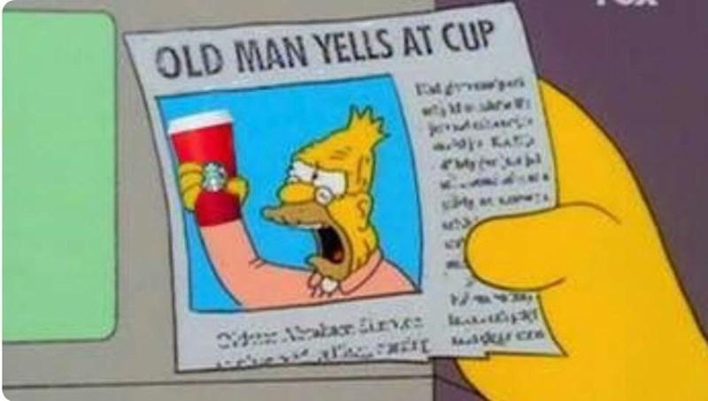 starbucks cup memes