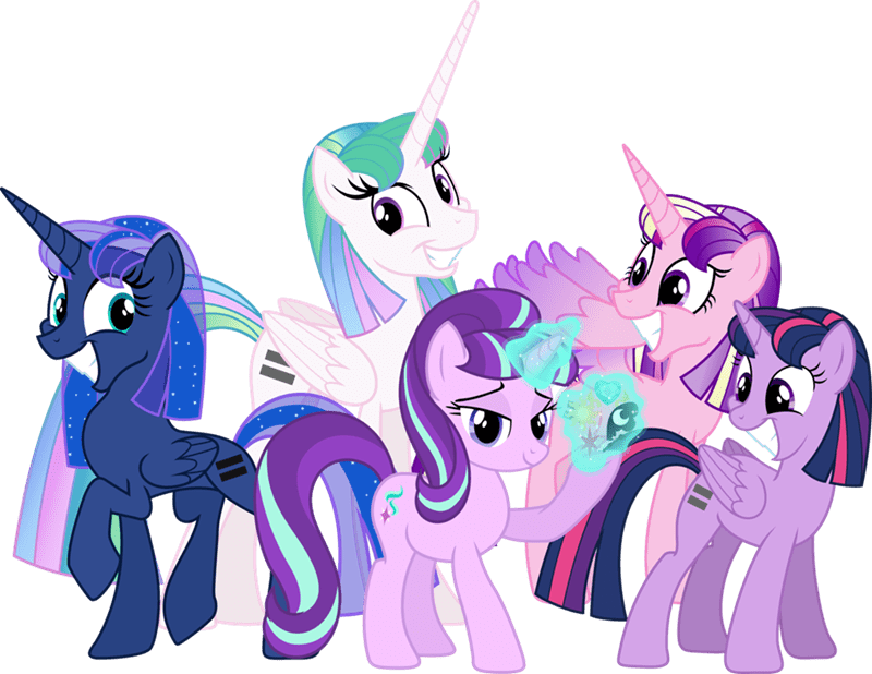 princess cadence starlight glimmer twilight sparkle princess luna equality princess celestia - 8584002304