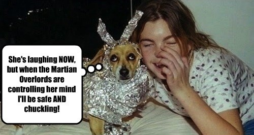 caption dogs controlling mind now overlords laughing martian chuckling - 8584123648