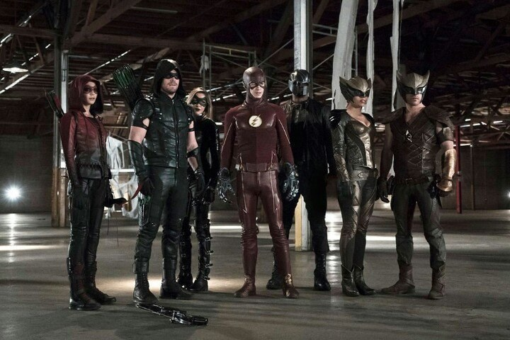 dc legends of tomorrow flash arrow Crossover Episodes of Flash and Arrow With Feature a Preview of DC's Legends of Tomorrow