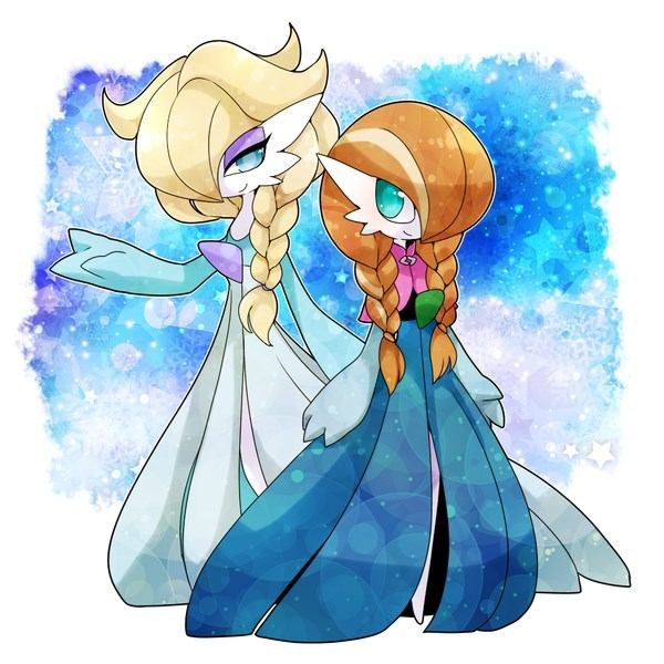 crossover disney Fan Art frozen - 8584294144
