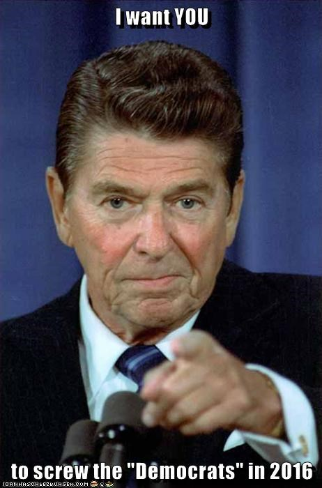 republican Ronald Reagan - 8584363264