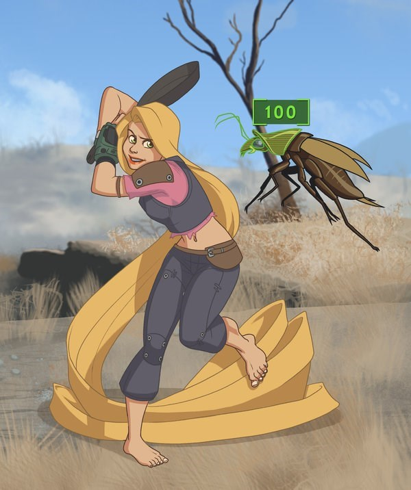 disney princess fallout