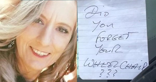 Open Letter of The Day: Mom With Multiple Multiple Sclerosis Responds to Nasty Note Left on Her Car