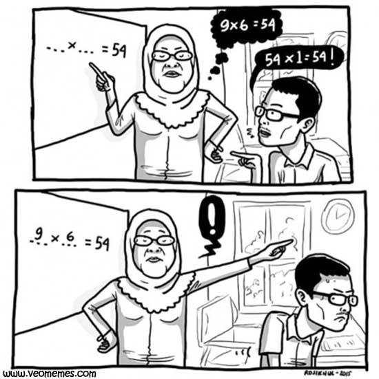 profesores siempre tienen la razon