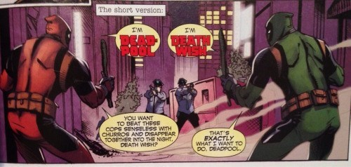 deadpool comics Alternate Dimension Deadpool is Not So Different
