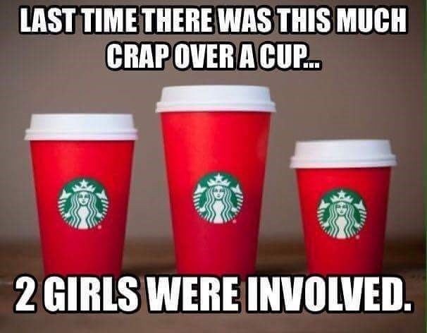 funny memes starbucks 2 girls 1 cup