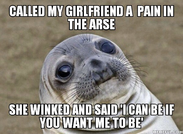 sexytimes buttstuff awkward moment seal - 8584749056