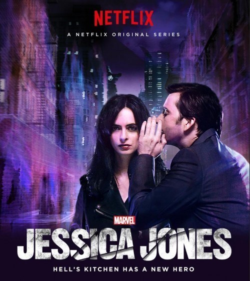 jessica jones kilgrave A New Poster for Jessica Jones Shows Kilgrave Whispering Horrible, Manipulative Nothings Into Her Ear