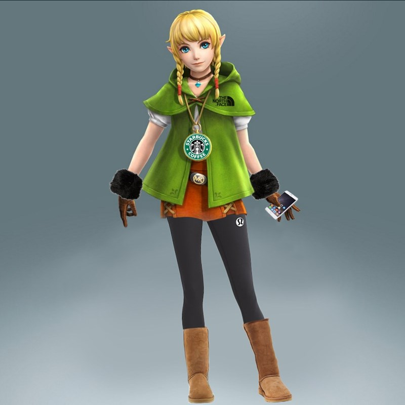 linkle,basic white girl