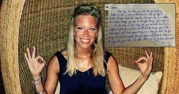 Good Deed of The Day: Man Helps Woman Having a Seizure, Leaves Money and a Touching Note
