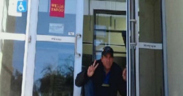 Fail of The Day: Man Finds Bank Wide Open With No One Inside
