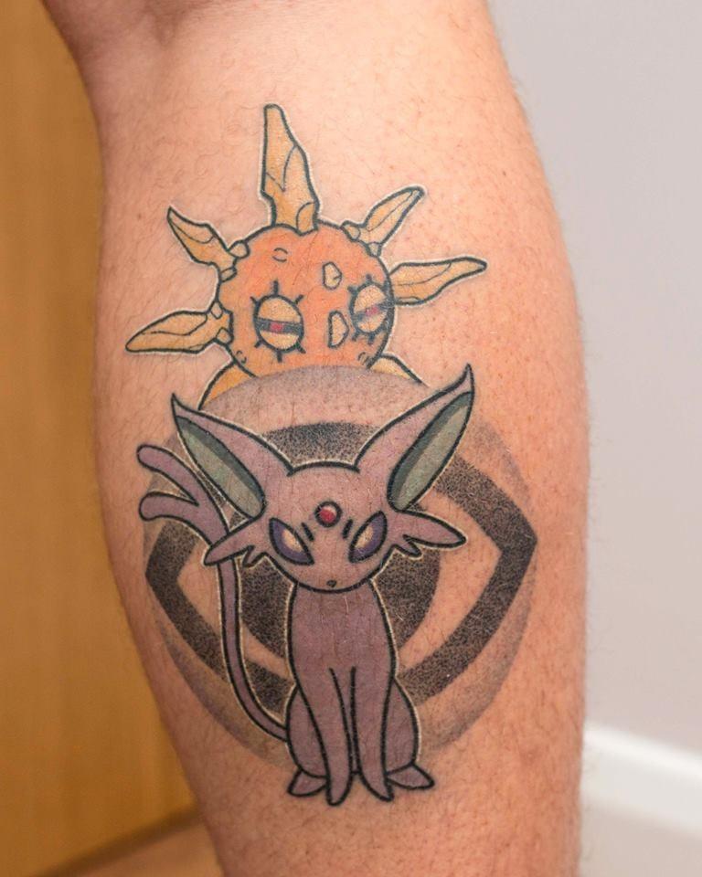 Pokémon tattoos - 8585142016