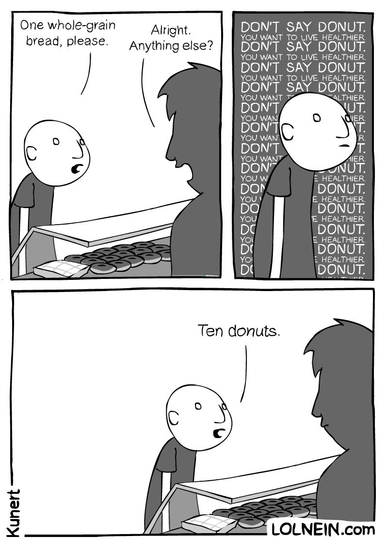 web comics food But Not a Single Donut More!