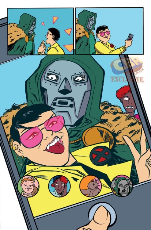 jubilee dr doom There's Always Time for a Selfie