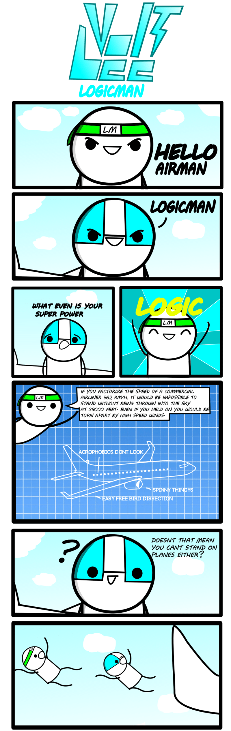 web comics logic Logic Always Wins