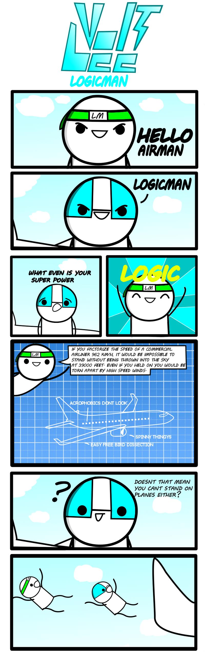 web comics logic Logic Always Wins