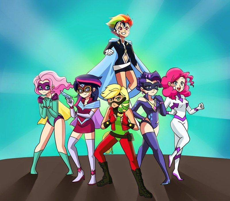humanized power ponies - 8585493760