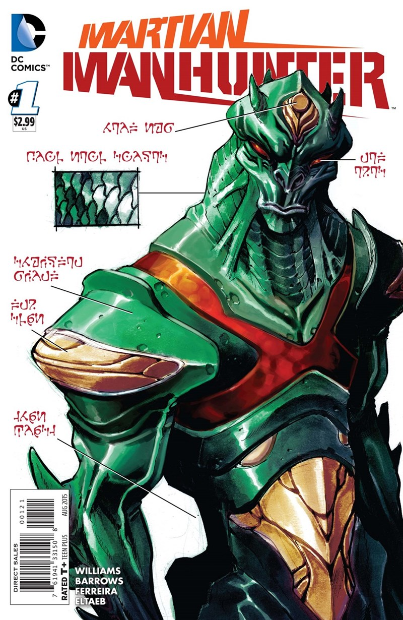 martian manhunter - 8585511936