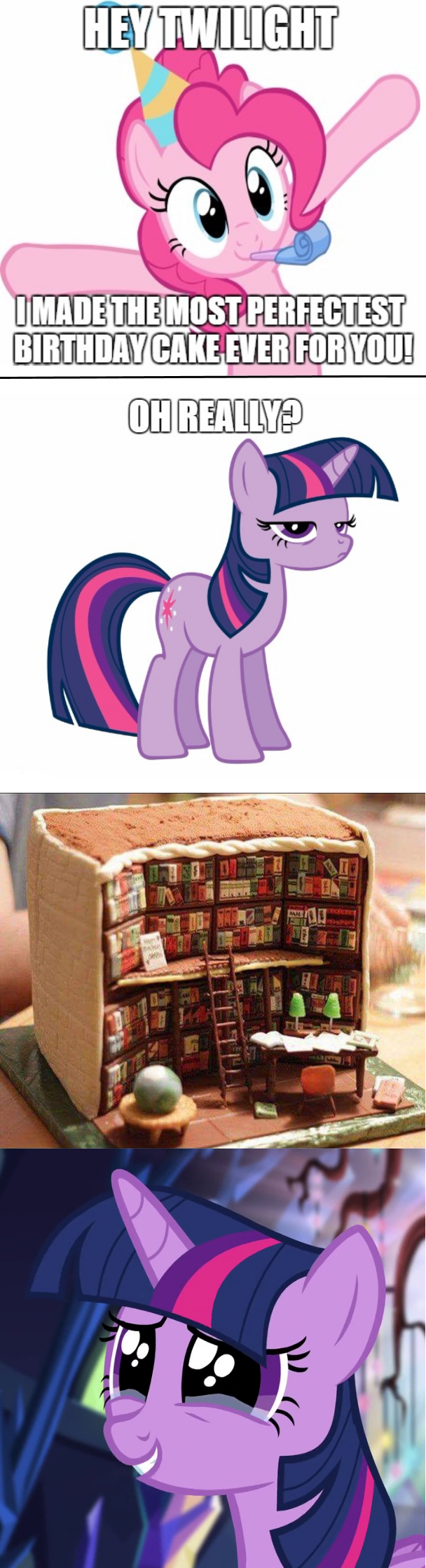 cake twilight sparkle pinkie pie - 8585542912