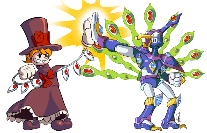 megaman,Fan Art,skullgirls