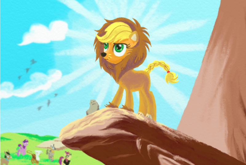 the lion king applejack scare master - 8585681152