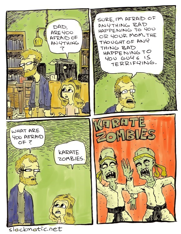 web comics zombies Well, That Would Be Bad if it Happened to You