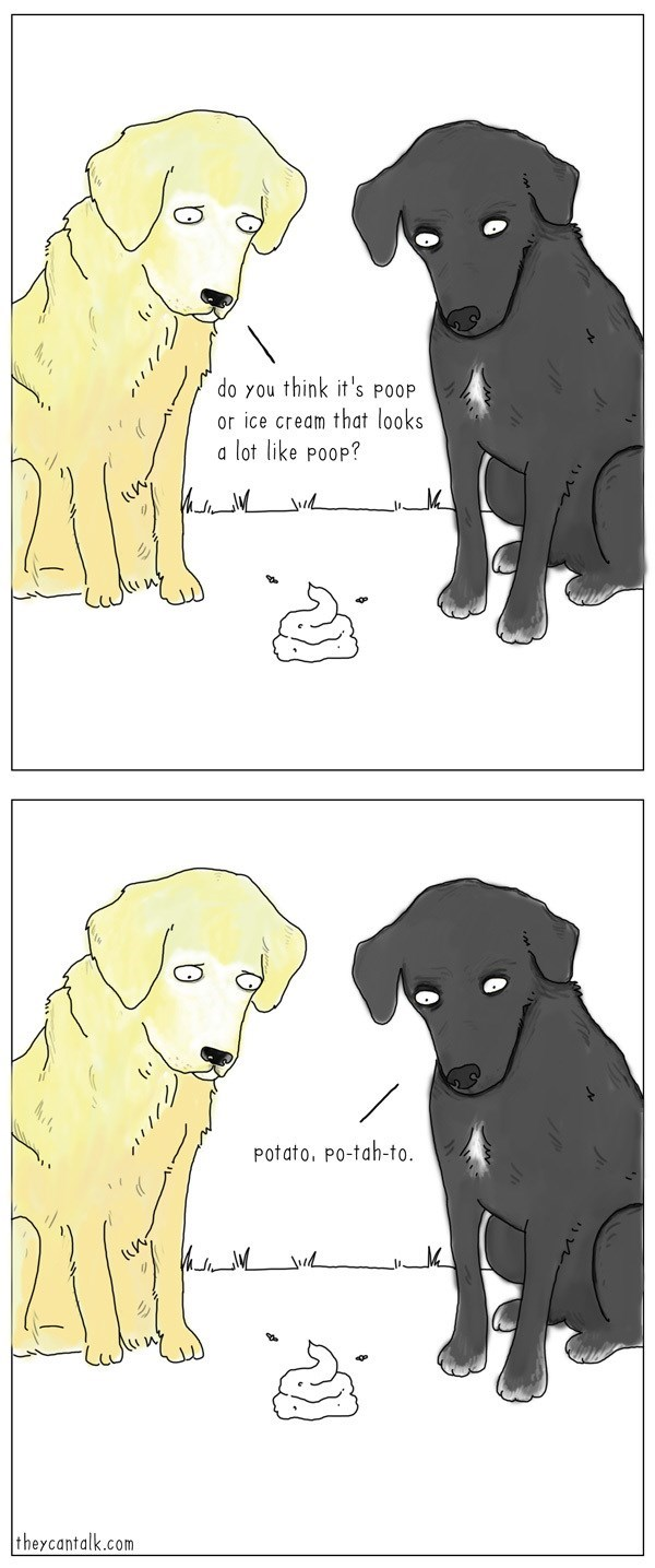 dogs web comics Either Way, Great Find!