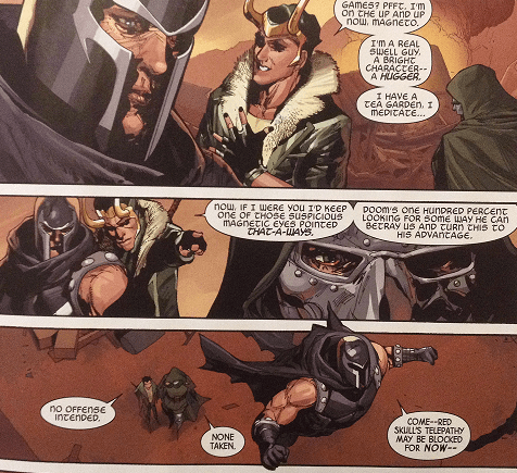 loki dr doom magneto Watch Your Back Around This Group