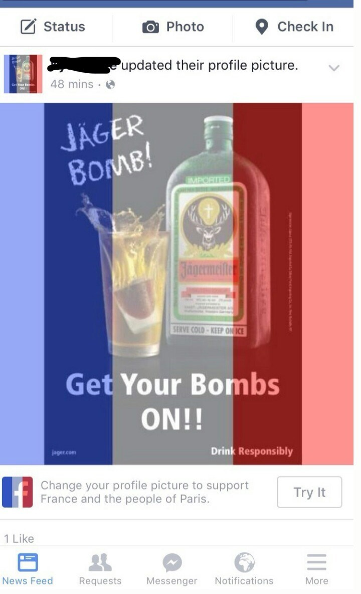 drinking bombs alcohol facebook france - 8585984512
