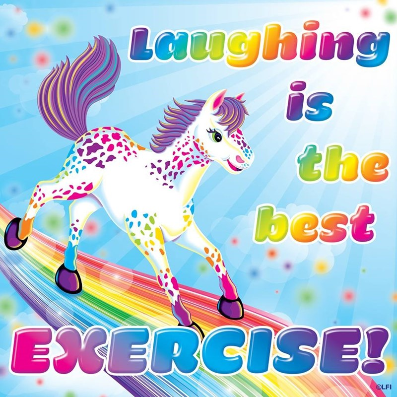 Animal figure - Laughing the best EXERCISE! OLFI