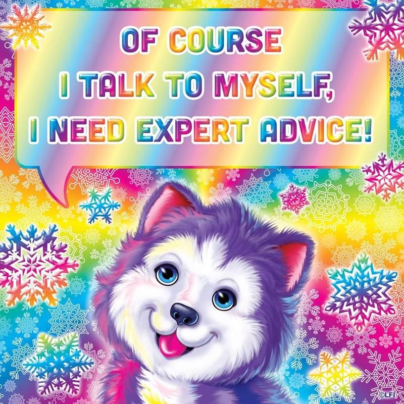 Canidae - OF COURSE TALK TO MYSELF I NEED EXPERT ADVICE! OLFI