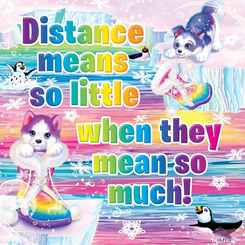 Cartoon - Istance means so little SO when they W mean-so much! SO OLFI